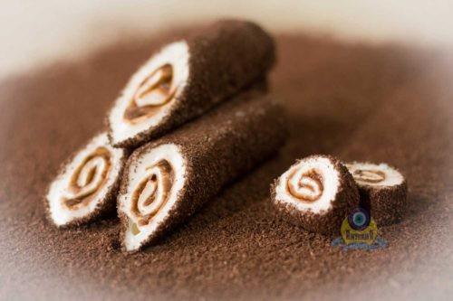 Рулет «Султан» шоколадный
