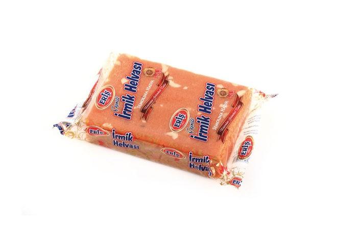 Халва манная с апельсином и арахисом 400 гр